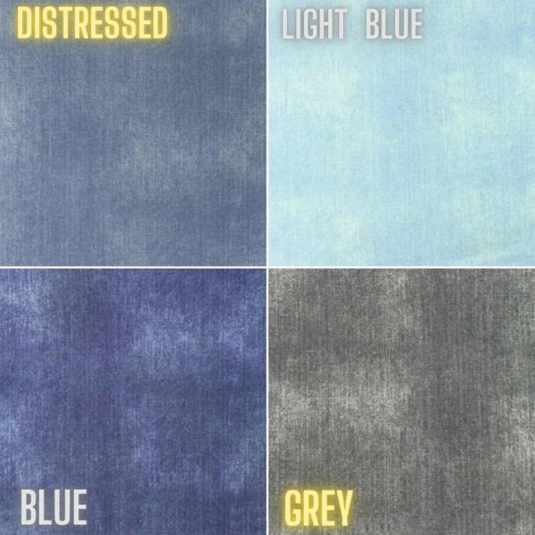 Denim-Look Distressed – Jersey