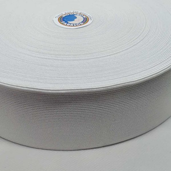 2 inch/ 50mm White Waistband Elastic
