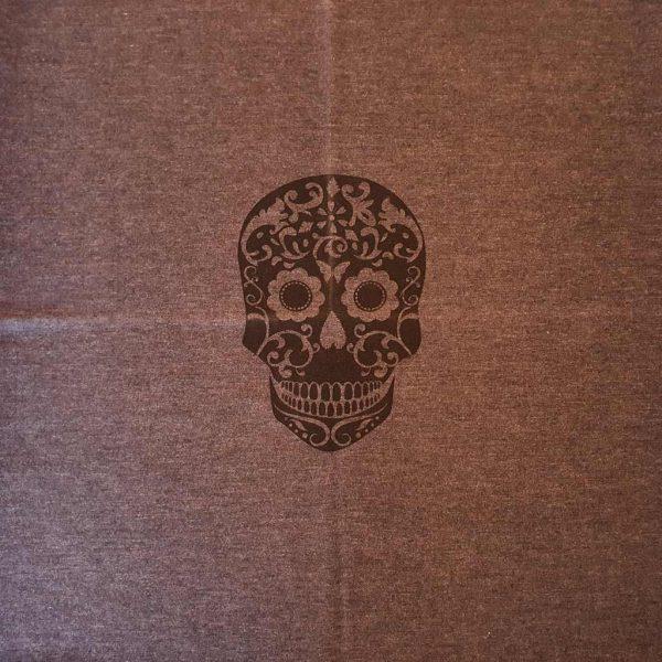 Candy Skull Organic Infant Panel  – Organic Jersey