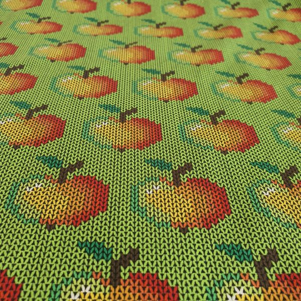 Stitched Apples – Jersey