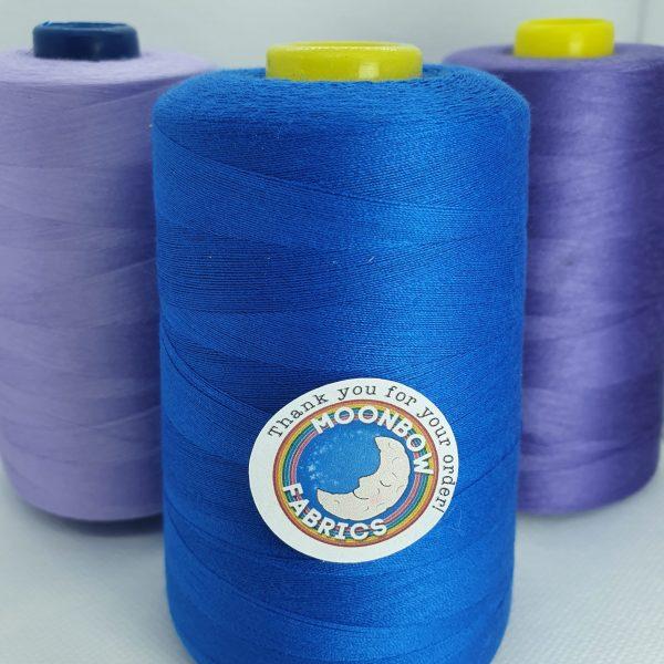 Royal Blue Overlocker Thread
