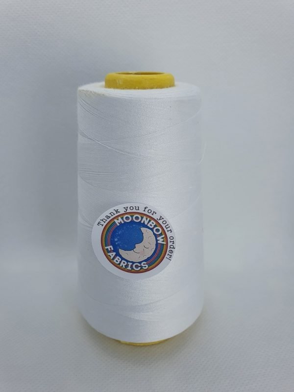 White overlocker thread