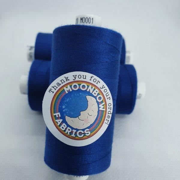 COATS Moon Thread Dark Blue M0001