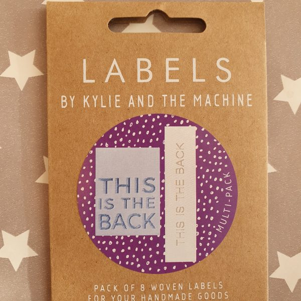 This Is The Back Labels- Kylie and the Machine