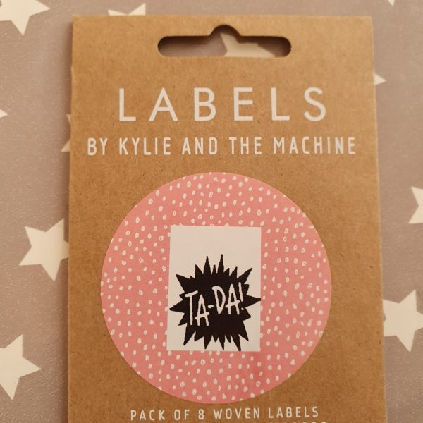 Ta-Da! Labels- Kylie and the Machine