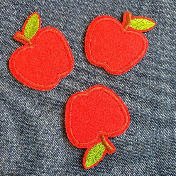 Red Apple Applique