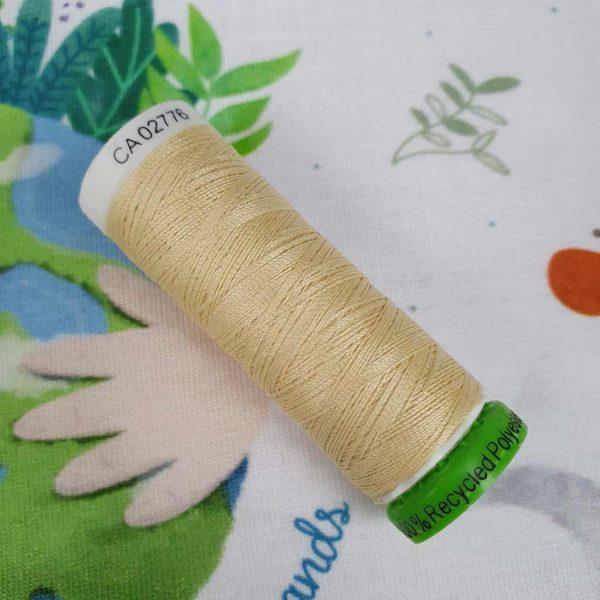 Gutermann rPET Thread Maize Yellow 325