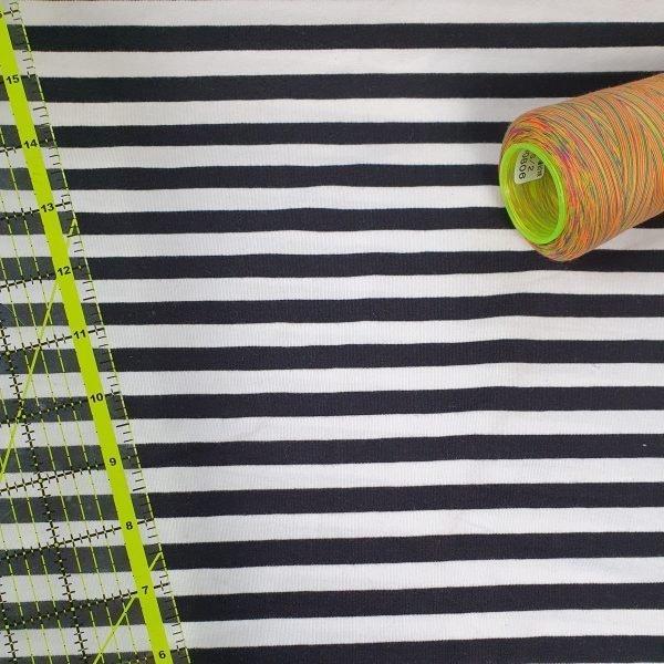 Black & White Stripe  – Jersey