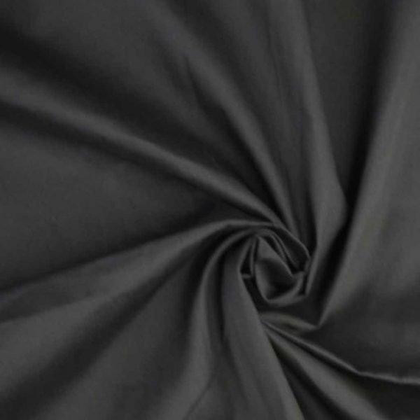 Black – Cotton Poplin