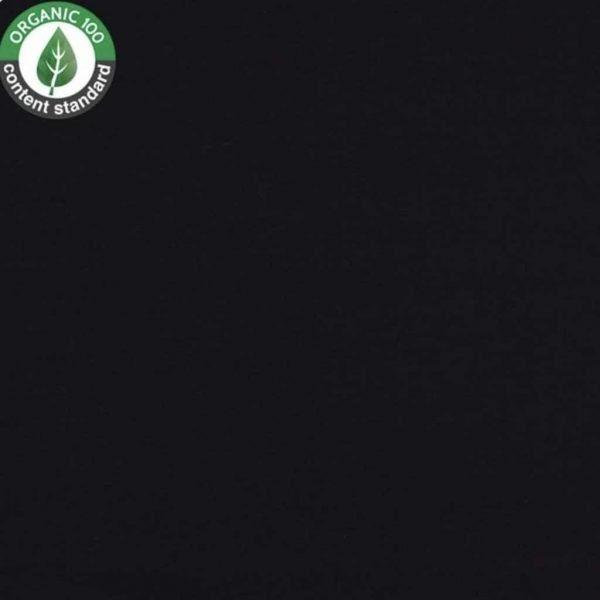 Black – Organic Jersey