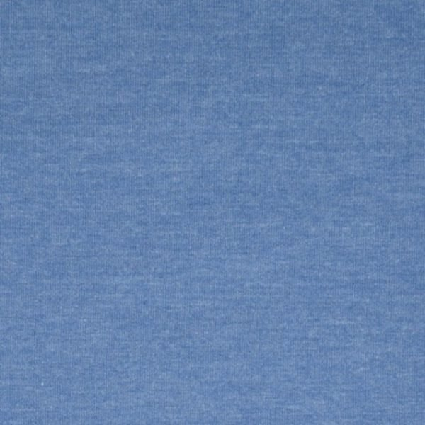 Blue French Terry fabric