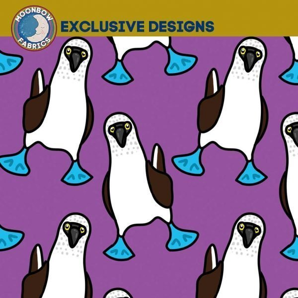 Blue Footed Boobies – Purple – Exclusive Jersey