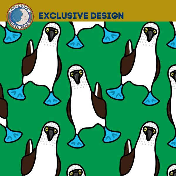 Blue Footed Boobies – Green – Exclusive Jersey