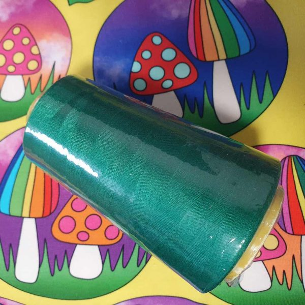 Bottle Green Overlocker Thread