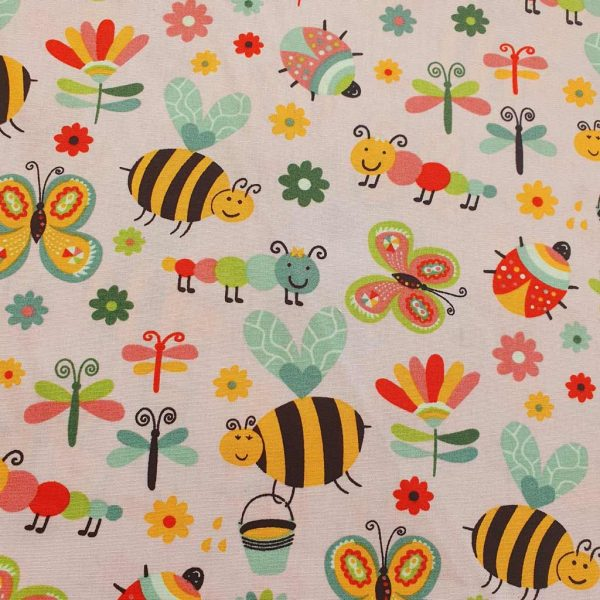 Busy Insects – Cotton Poplin