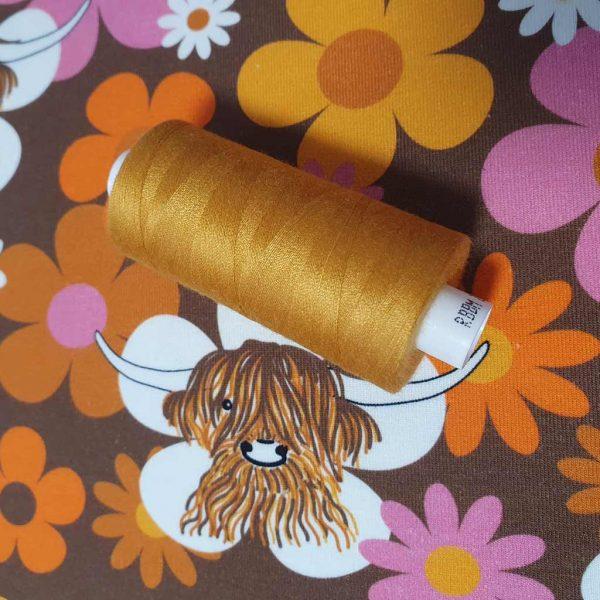 COATS Moon Thread Mustard M0073