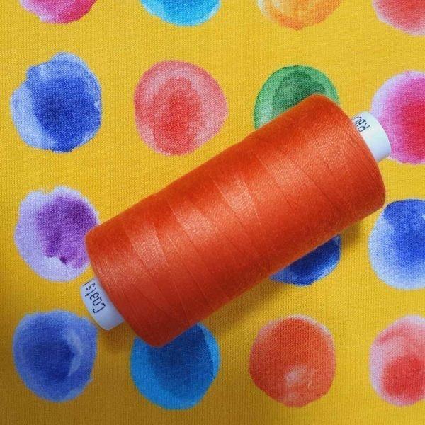 COATS Moon Thread Tangerine Orange M0096