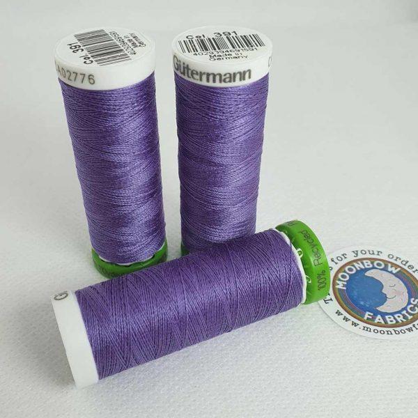 Gutermann rPET Thread Columbine Purple 391