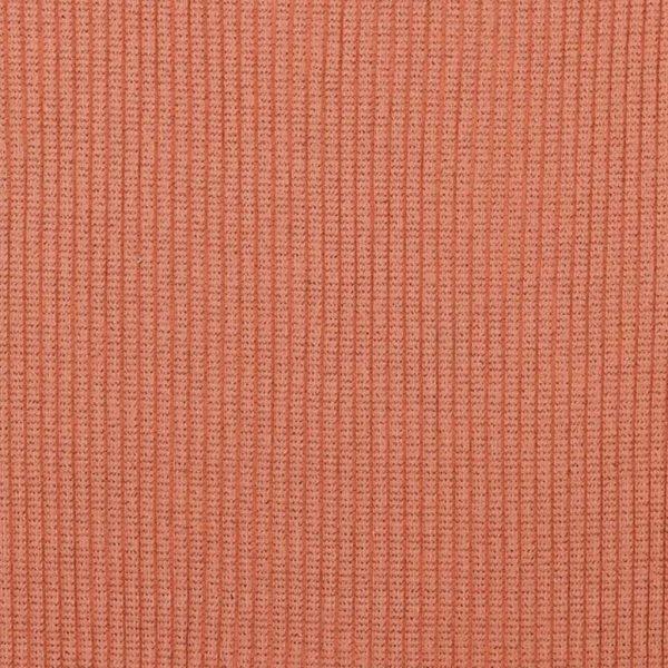 Coral Glitter – Jersey Tubular Ribbing