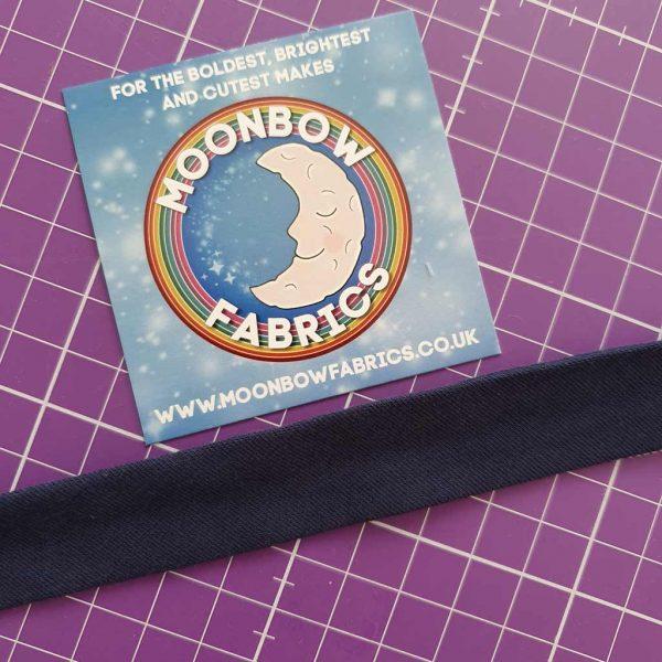 Dark Blue – Jersey Bias Binding