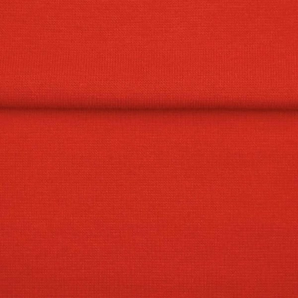 Dark Red – Jersey Tubular Ribbing