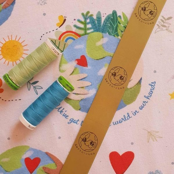 Earth-kind Label – Moonbow Fabrics Exclusive