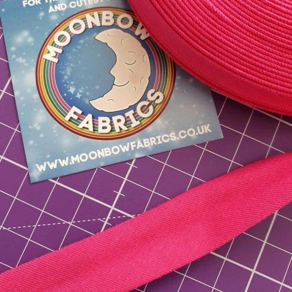 Fuchsia Pink – Jersey Bias Binding
