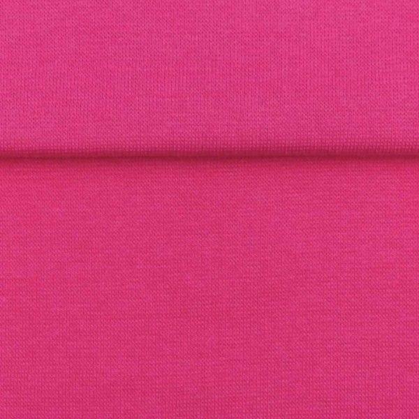 Fuchsia Pink – Jersey Tubular Ribbing