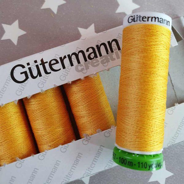 Gutermann rPET Thread Goldilocks 417