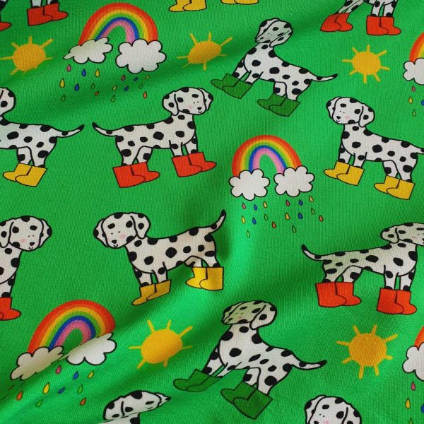 Dalmatians in Mud Boots – Green –  Exclusive Jersey