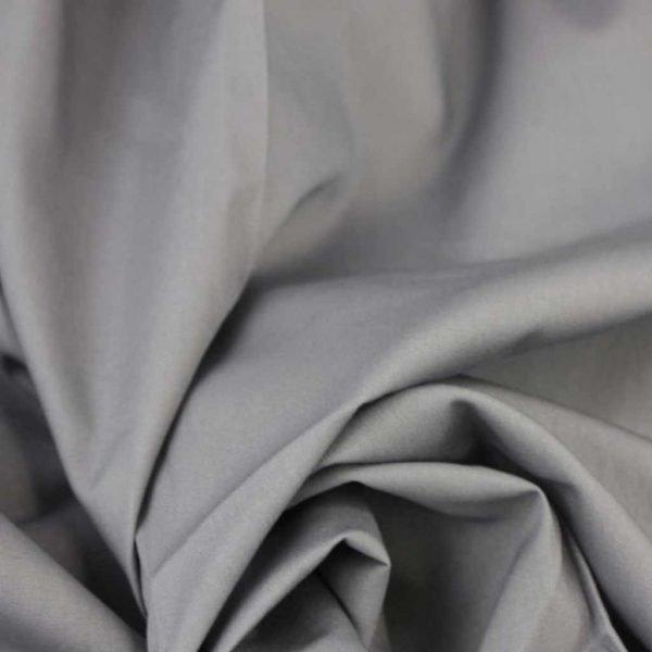 Grey – Cotton Poplin