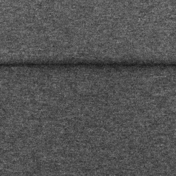 Grey Marl – Jersey Tubular Ribbing