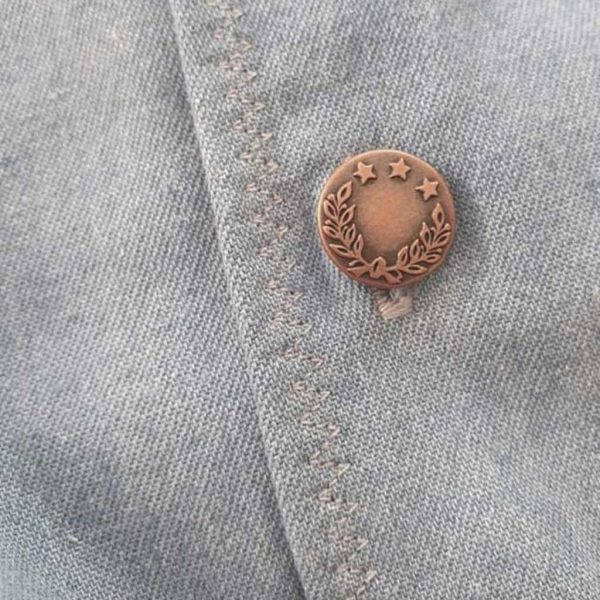 Prym Jeans Buttons Brass