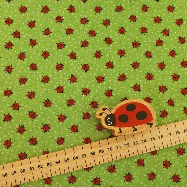Ladybirds – Cotton Poplin