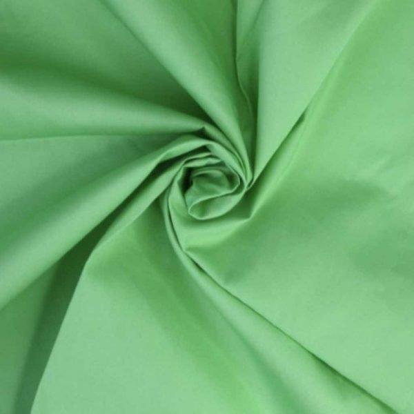 Lime – Cotton Poplin
