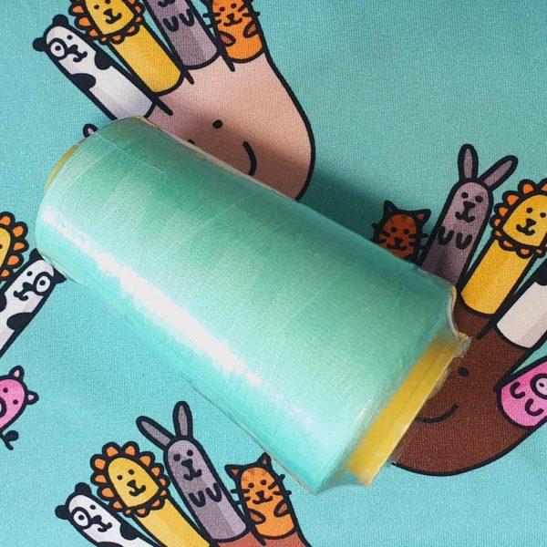 Mint Green Overlocker Thread