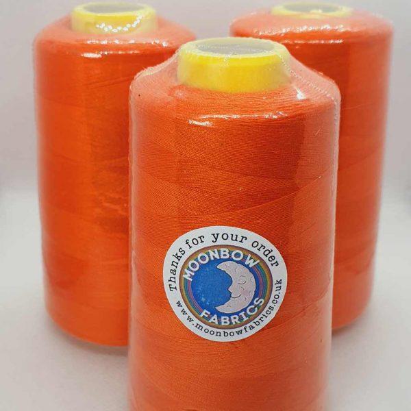 Tangerine Orange Overlocker Thread