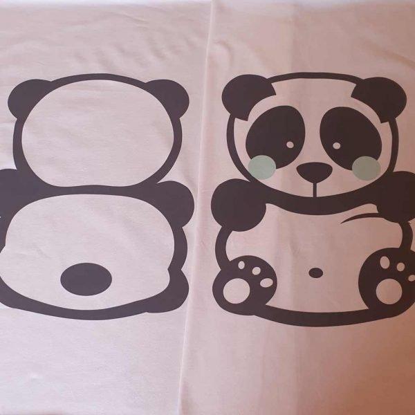 Pandas Organic Child Panel Set – Organic Jersey
