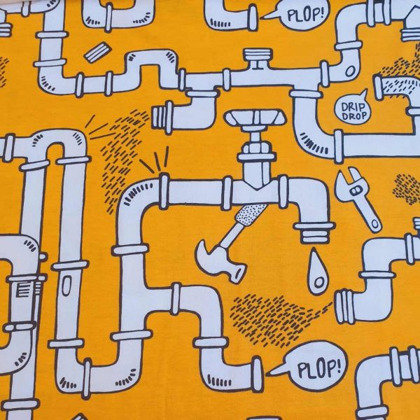 Pipes – Organic Jersey