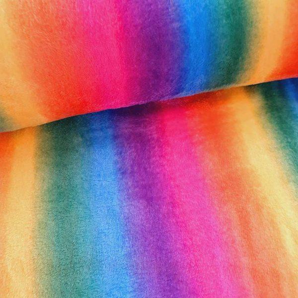 Rainbow – Cuddle Fleece