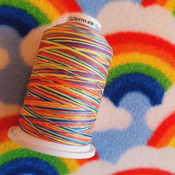 Rainbow Gutermann Bulky-Lock Thread