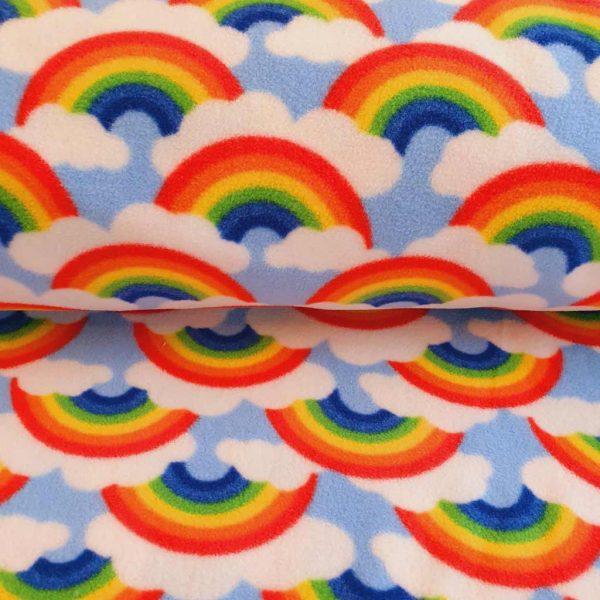 Rainbows and Clouds – Polar Fleece
