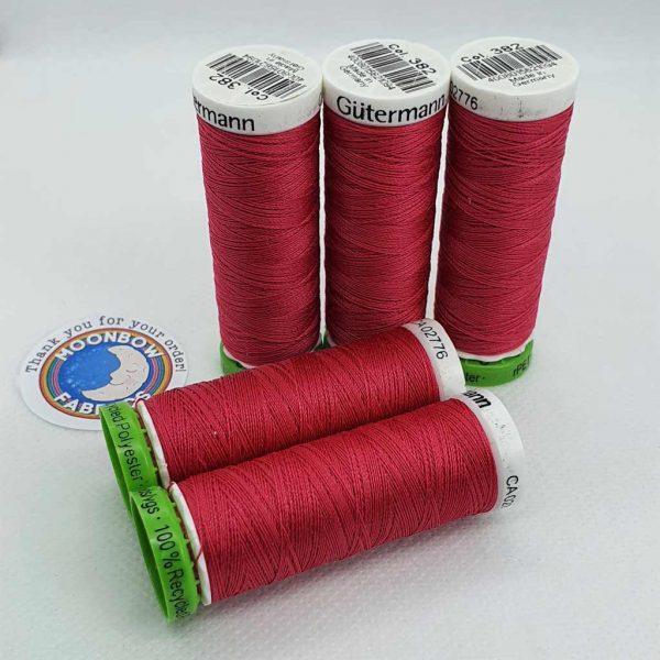 Gutermann rPET Thread Raspberry Pink 382
