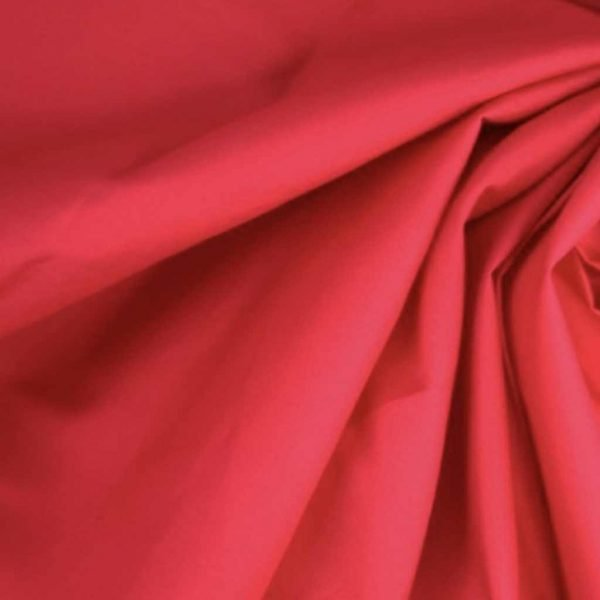 Red – Cotton Poplin