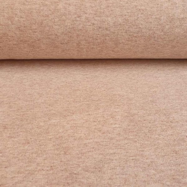 Sand marl French Terry fabric