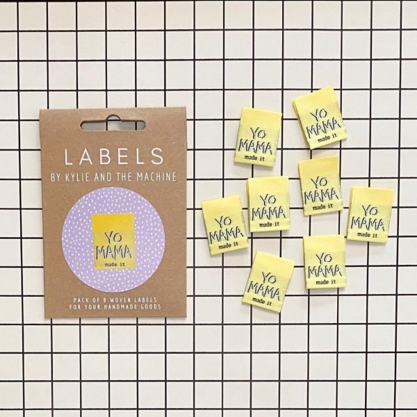 Yo Mama Made It Labels- Kylie and the Machine