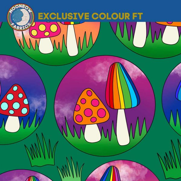 Green Wonderland Shrooms – Exclusive French Terry