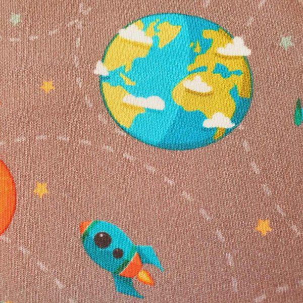 Space Explorer – French Terry – Fleece Back