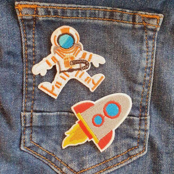 Spaceman Applique
