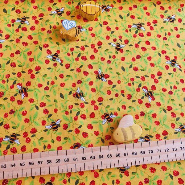 Strawberry Patch – Cotton